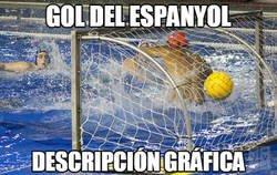 Enlace a Gol del Espanyol en (de) Cornellà