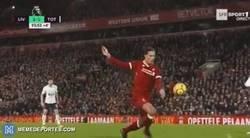 Enlace a El penalti de Van Dijk sobre Lamela. Muy dudoso