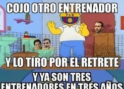 Enlace a El Barça, un devorador de entrenadores