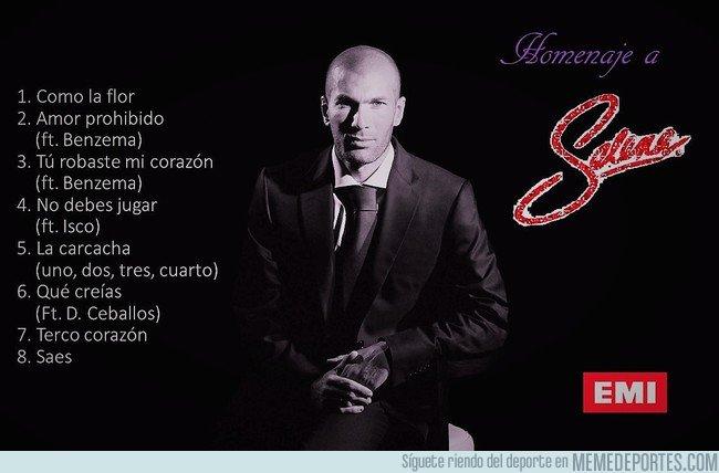 1020225 - Zidane ahora se dedicará a la música