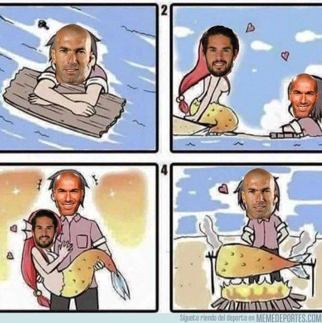 1020277 - Zidane quiere vender a Isco