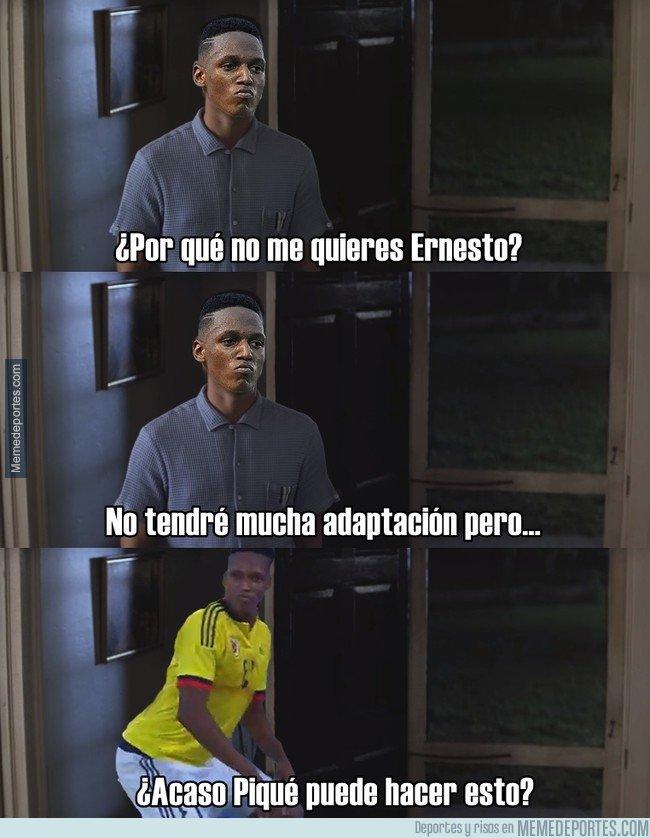 1020320 - Yerry Mina hablando con Valverde