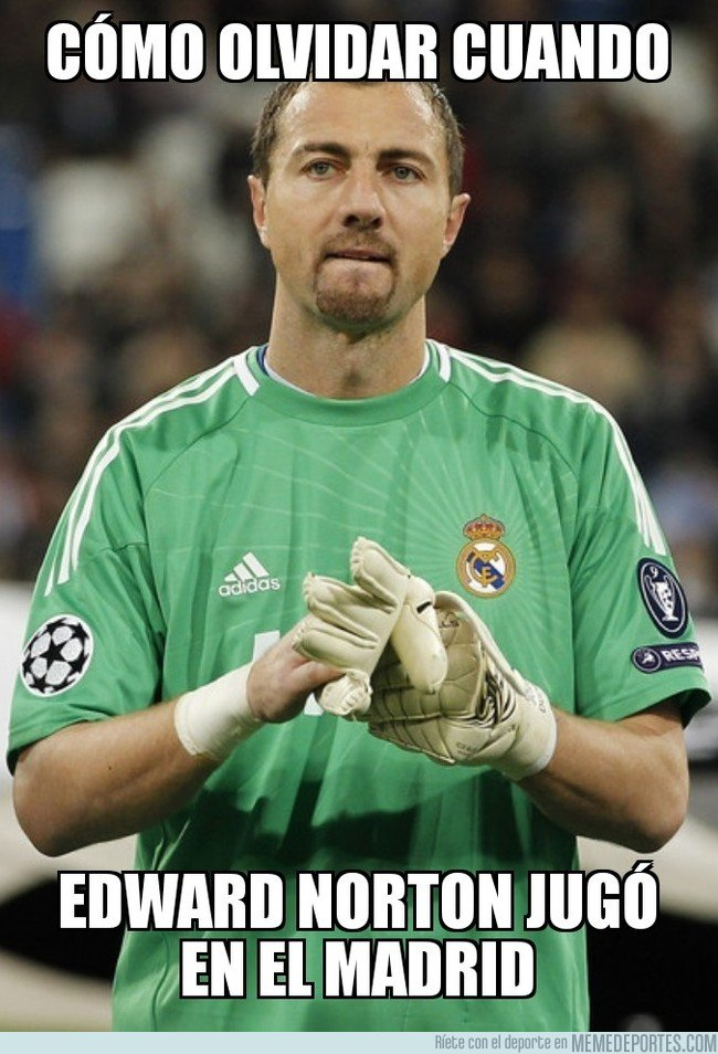 1020323 - Edward Norton en el Real Madrid