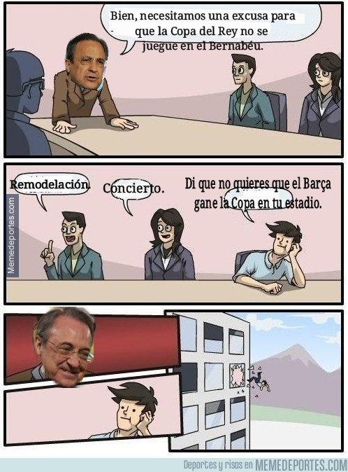 1020481 - Florentino Pérez y las excusas