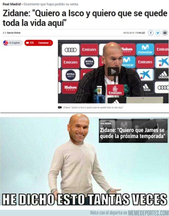 1020693 - Las palabras de Zidane no valen de mucho
