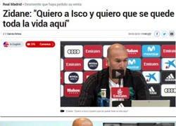 Enlace a Las palabras de Zidane no valen de mucho