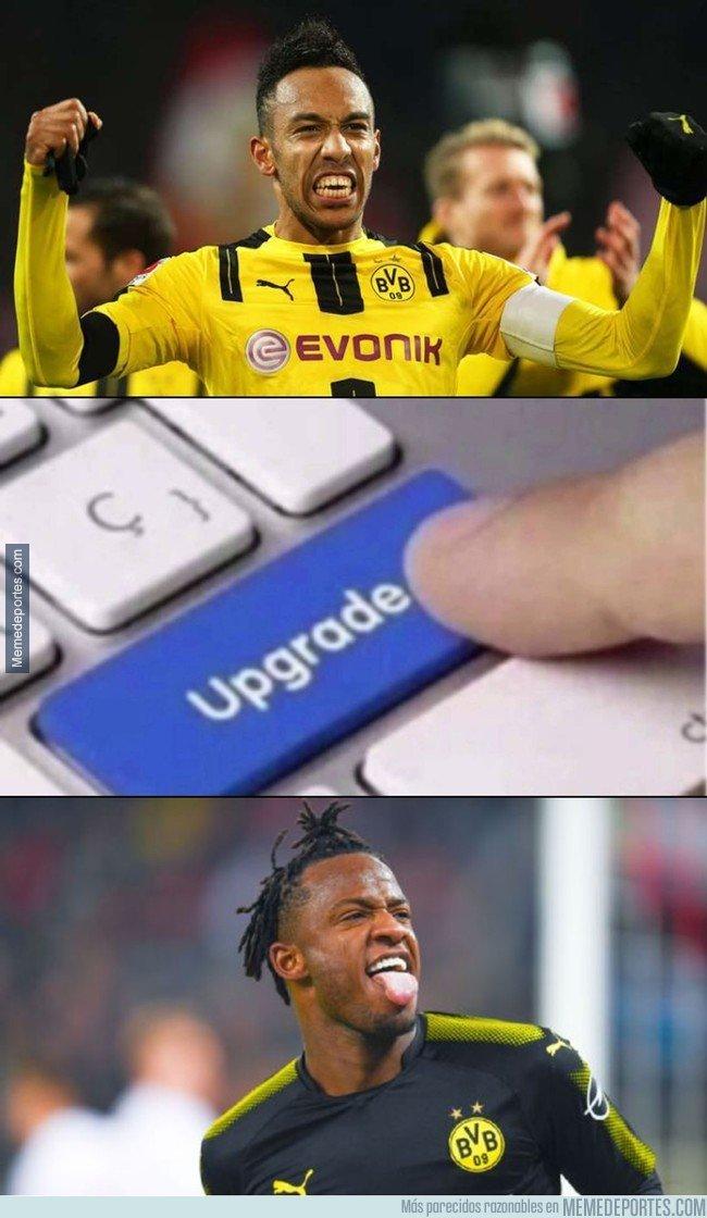 1020738 - Empiezan a olvidarse de Auba en el Dortmund