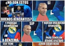 Enlace a Zidane y su necedad