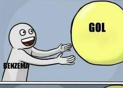 Enlace a Benzema y los palos