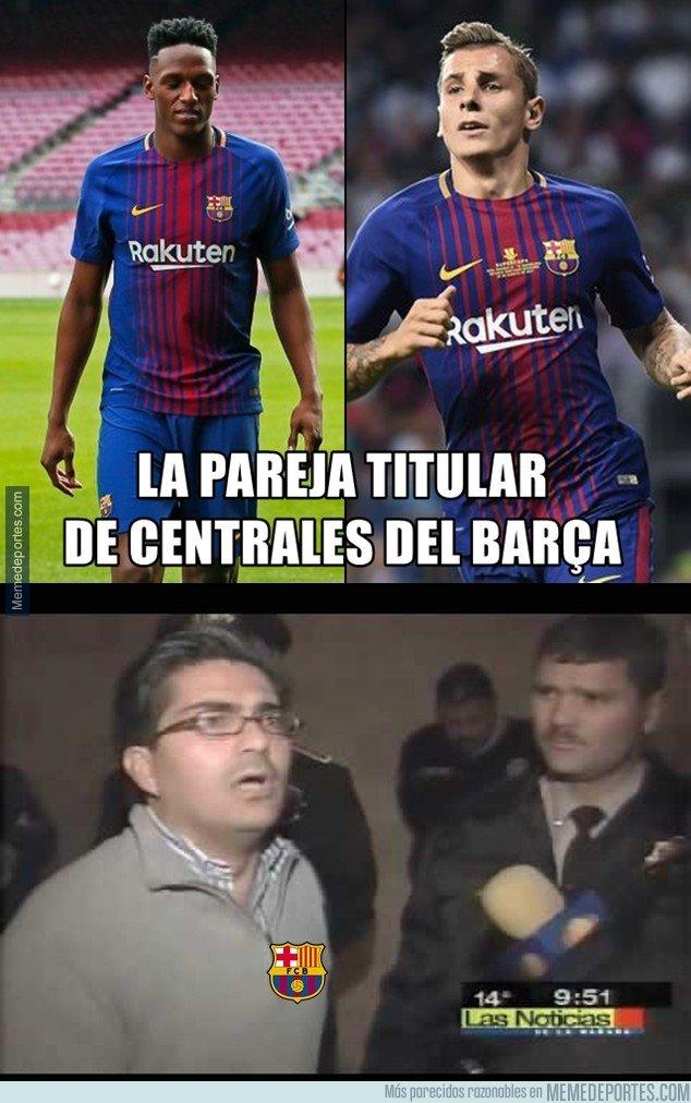 1020884 - Experimento en la zaga del Barça