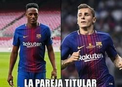 Enlace a Experimento en la zaga del Barça