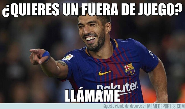 1020897 - Luis Suárez y los fueras de juego
