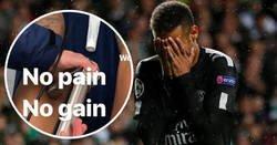 Enlace a Así están los tobillos de Neymar a dos días del partidazo contra el Madrid