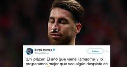 Enlace a Se disfrazan de Sergio Ramos en carnaval y el central les responde épicamente