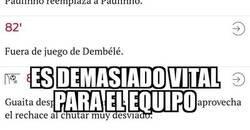 Enlace a Paulinho omnipresente