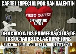 Enlace a First Dates (of Champions League): Especial San Valentín