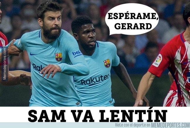 1021278 - Samuel Umtiti os desea Feliz Sam Va Lentín