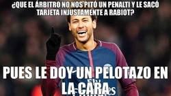 Enlace a Neymar se ha desquitado