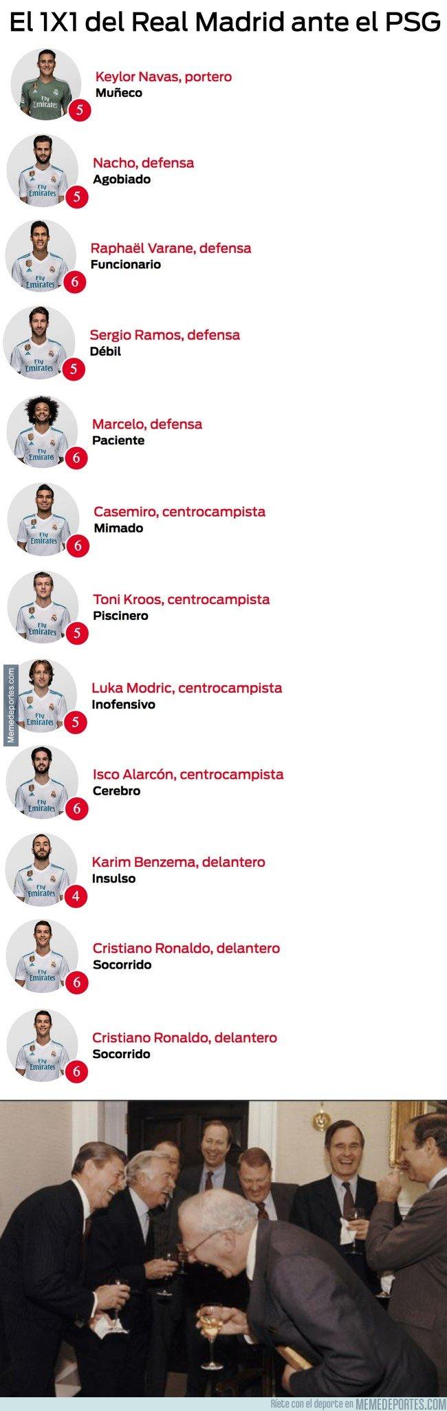 1021556 - Los adjetivos de Sport a los jugadores del Madrid tras el partido de ayer son de risa, parece que hayan perdido la liga