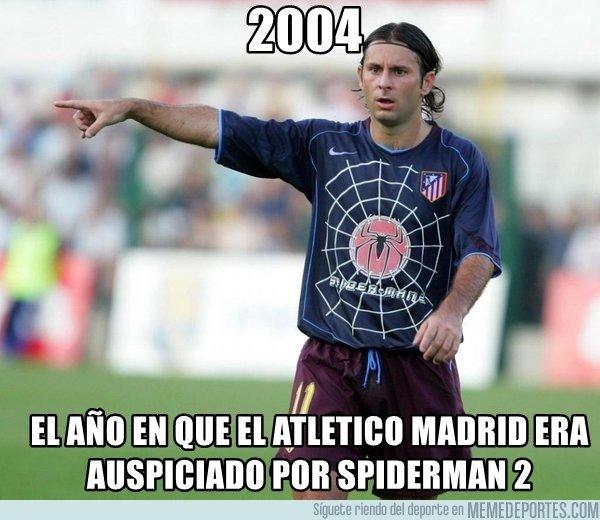 1021684 - ¿Quién recuerda el viejo kit de Spiderman del Atlético?