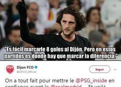 Enlace a El Dijon responde a la crítica de Rabiot a su equipo frente al Madrid