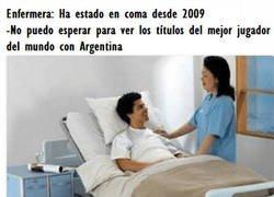 Enlace a ¿Y las copas de Messi con Argentina?