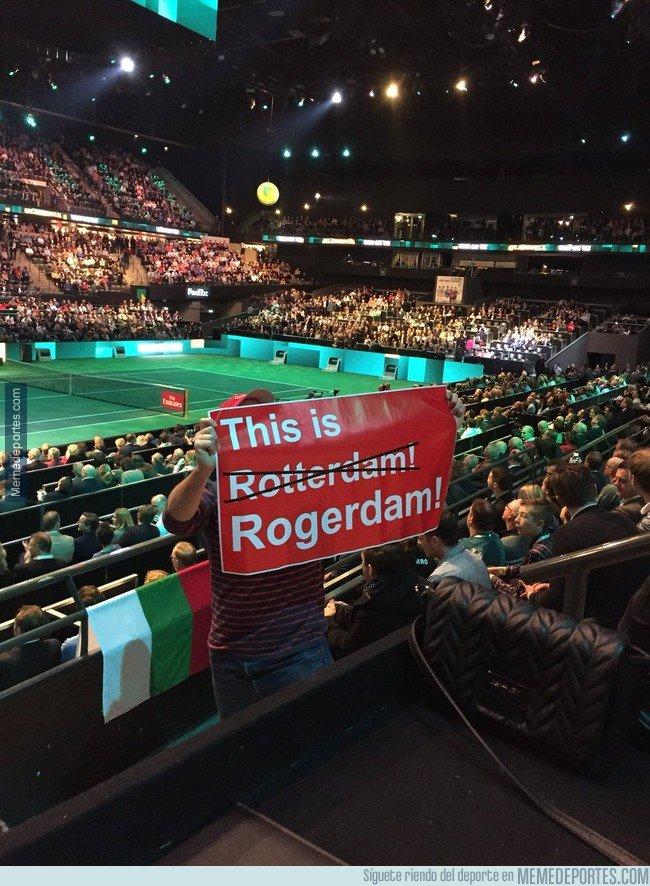 1022011 - Rogerdam. toda Holanda se vuelca a Federer