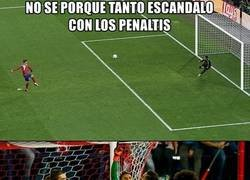 Enlace a El Atleti y los penaltis