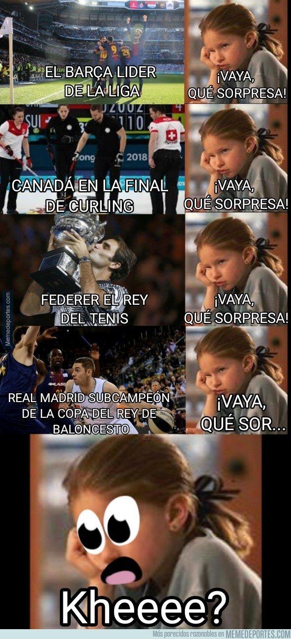 1022093 - Hay cosas más rara que ver al Real Madrid perder la Copa del Rey de Basket? Sí, que el Barça gane la copa