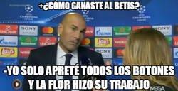 Enlace a La flor vuelve para Zidane