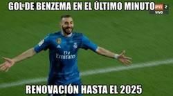 Enlace a Benzema se acaba de asegurar otra temporada más de titularidad