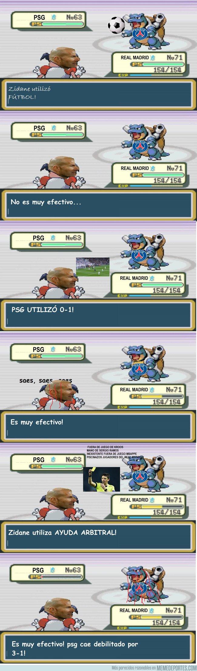 1022232 - A una hora de la vuelta del PSG-Real Madrid, hagamos un repaso de la ida, versión Pokémon