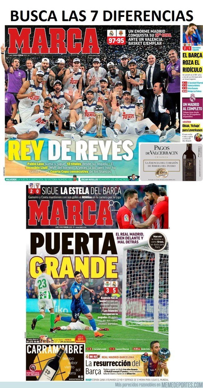1022241 - Adivina en qué año ganó el Madrid y en cuál el Barça