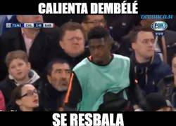 Enlace a Dembélé a lo suyo