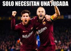 Enlace a Simplemente Messi e Iniesta