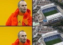 Enlace a Iniesta en Stamford Bridge