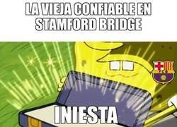 Enlace a La vieja confiable del Barça en Stamford Bridge