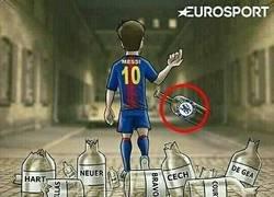 Enlace a Messi acabando sus malas rachas