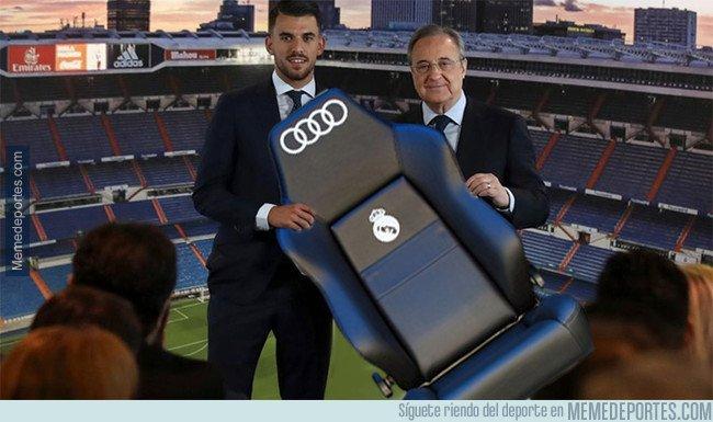 1022710 - Como olvidar la presentación de Ceballos con el Madrid