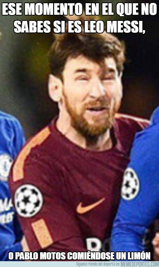 1022831 - Es muy extraña la cara de Messi