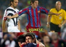 Enlace a Los 6 equipos a los que Messi aún no les ha perforado la portería en la Champions