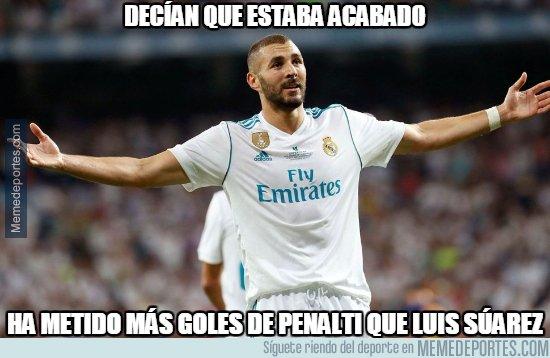 1023062 - Benzema callando a sus haters
