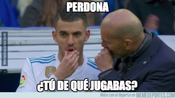 1023210 - Zidane se olvidó de él