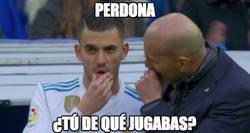 Enlace a Zidane se olvidó de él