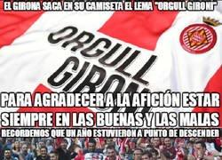 Enlace a Enorme el Girona y su afición
