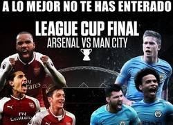 Enlace a La final de la Capital One Cup