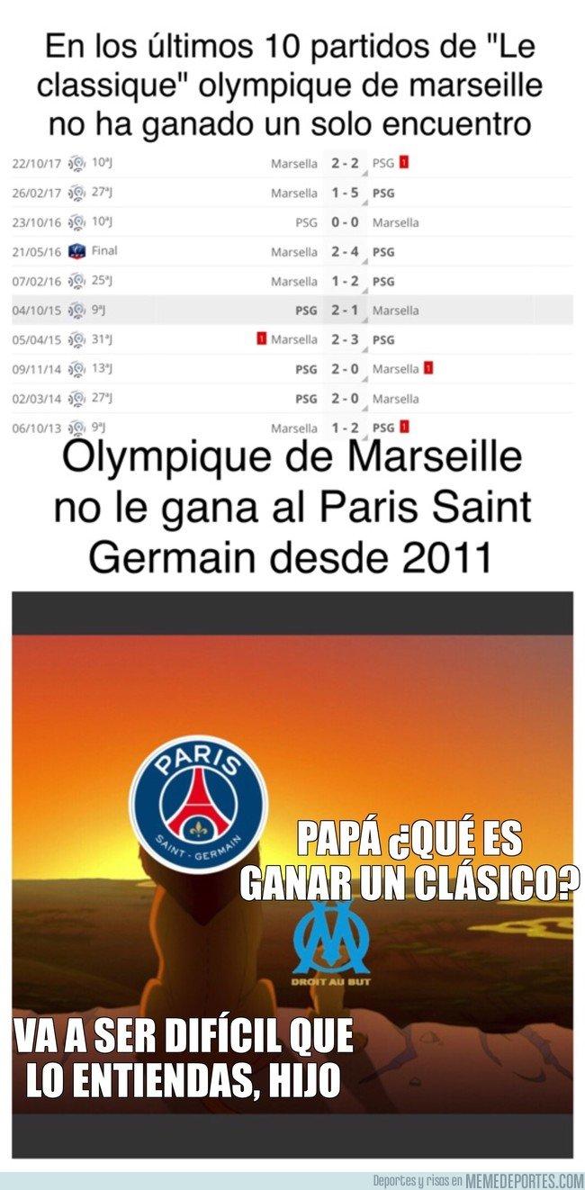 1023285 - Olympique de Marseille no sabe ganar Le classique