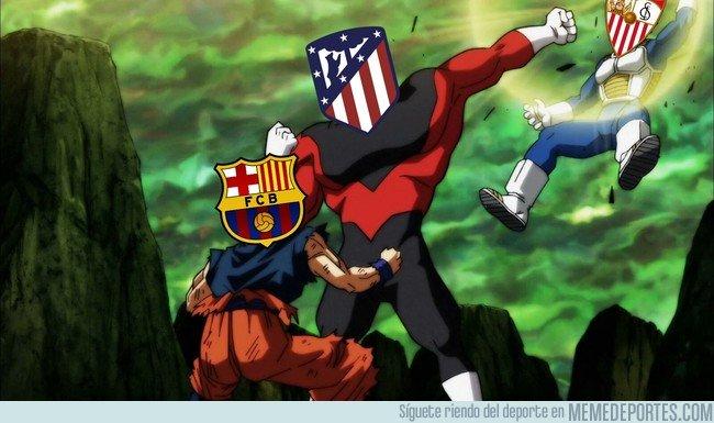 1023412 - El Sevilla intentando molestar en la lucha por La Liga, vía @gregmaros7