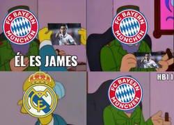 Enlace a James en el Bayern