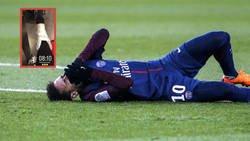 Enlace a Neymar luce el estado de su tobillo tras caer lesionado ante el Olympique